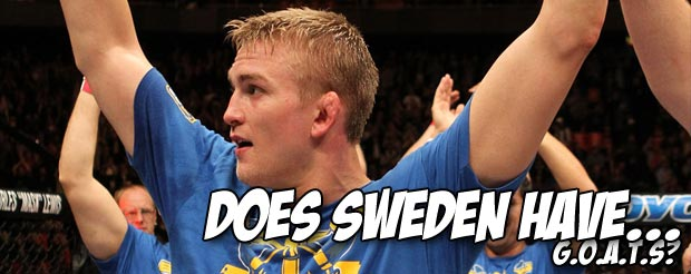 Not even Shogun's red vale tudo shorts could stop Alexander Gustafsson tonight at UFC on FOX