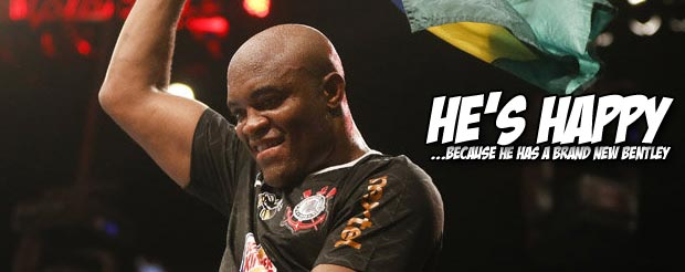 The UFC just puchased a car for Anderson Silva worth more than everything you own