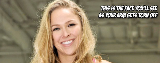 Ronda Rousey is the 43rd most desirable woman in the world according to AskMen.com
