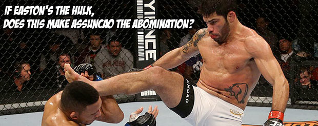 Take a look at this X-Ray of Raphael Assuncao's broken arm following his fight on UFC on FOX