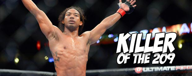 Ben Henderson punches Nate Diaz on every inch of his body to retain the UFC lightweight title