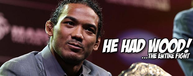 Woah, Ben Henderson really did have a toothpick in his mouth the entire time he fought Nate Diaz