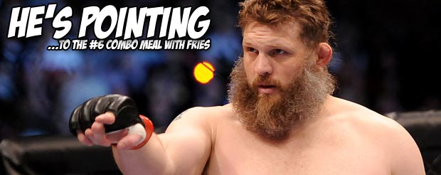 Roy Nelson now has colossal sandwich named after him, and it's intense…