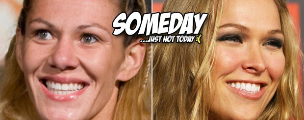 For like 10 seconds, UFC Brazil's website said Ronda Rousey vs. Cris Cyborg was going down at UFC 157