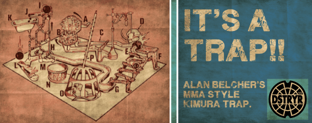 DstryrSG | Alan Belcher's MMA style Kimura trap