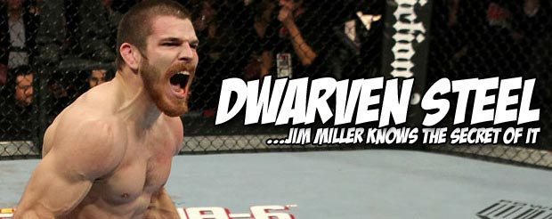Jim Miller drowns Joe Lauzon in a pool of blood and gets the win at UFC 155