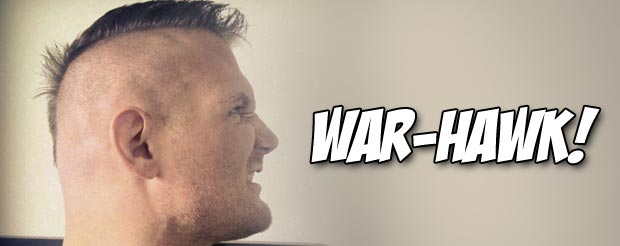 Josh Barnett rocks a new mohawk and and gets nostalgic about the end of Strikeforce