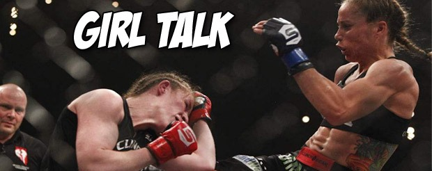 Let's watch Karyn Bryant coach Liz Carmouche through being girly to promote her fight with Ronda Rousey