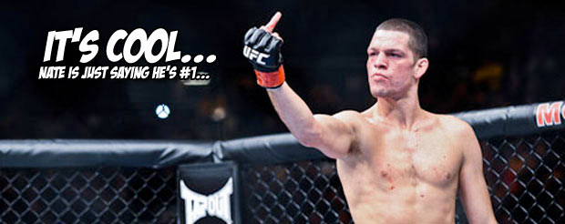 Nate Diaz has a message for the people who try to censor his profanity