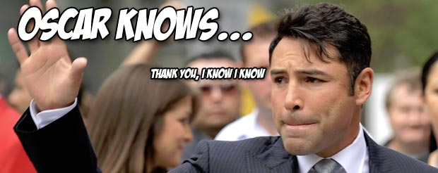 Oscar De La Hoya can't figure out why Rory MacDonald didn't finish BJ Penn, or use his jab to the body