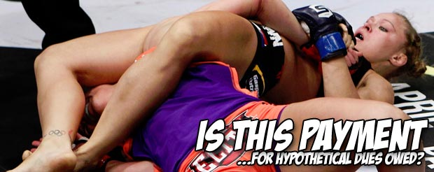 Dan Henderson's camp believes that Ronda Rousey hasn't 'paid her dues' to headline UFC 157