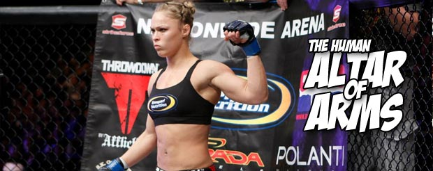 Ronda Rousey says chock-full of steroids, Cris Cyborg weighs 145 lbs