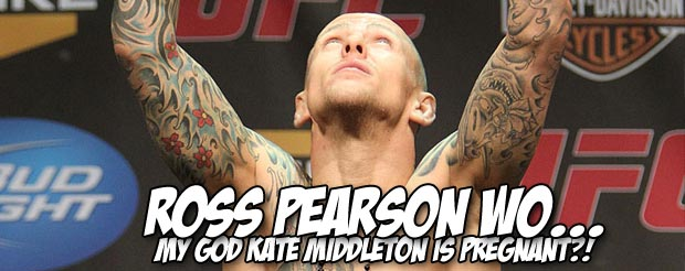 Ross Pearson hit George Sotiropoulos so hard that he levitated, and then was knocked out