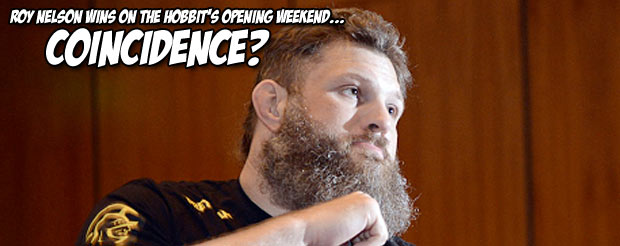 Roy Nelson's fists shake Middle-Earth and knock out Matt Mitrione