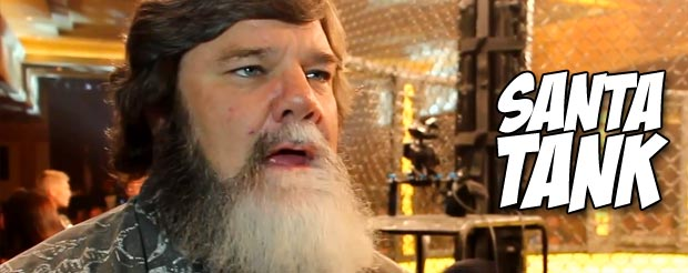 Tank Abbott basically said his next fight is dependent on the amount of beer he's had at a bar