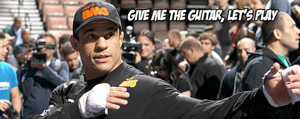 Vitor Belfort wants to serenade you into getting hyped for the UFC's return to Sao Paulo
