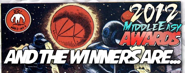 And the winners of the 2012 MiddleEasy Awards are…