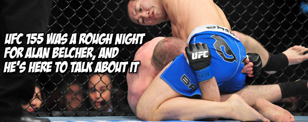 Alan Belcher wants to look back at his UFC 155 loss with an open heart and mind