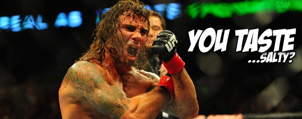 Clay Guida didn't just run laps around the Octagon, he actually won a fight too