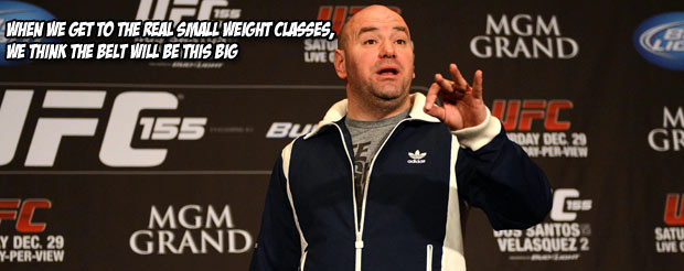 Dana White lectures bloggers at the New Media Expo on what it takes to use social media effectively