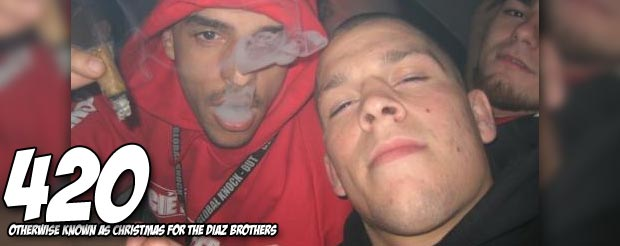 Nate Diaz vs. Josh Thomson booked for UFC on FOX 7 on 4/20, oh the ironing…