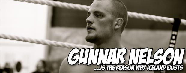 Gunnar Nelson gives Jedi-like wisdom on his approach to MMA