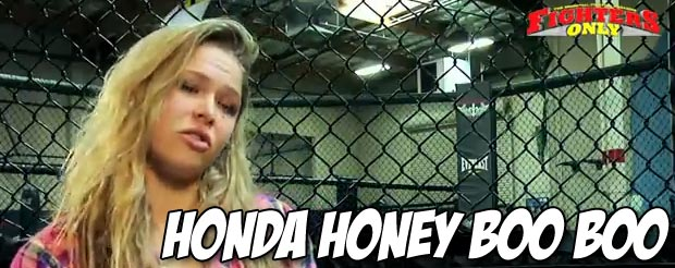 Ronda Rousey as Honey Boo Boo is something you need to see