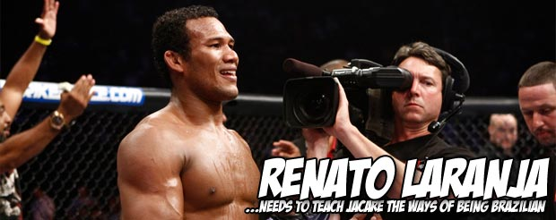 Jacare did his cool crocodile thing after submitting Ed Herman