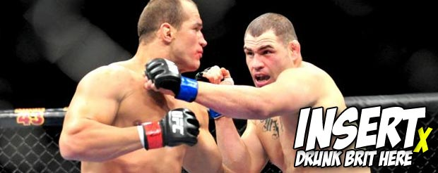 It's time to watch Cain Velasquez vs. Junior dos Santos from the perspective of a drunk British guy