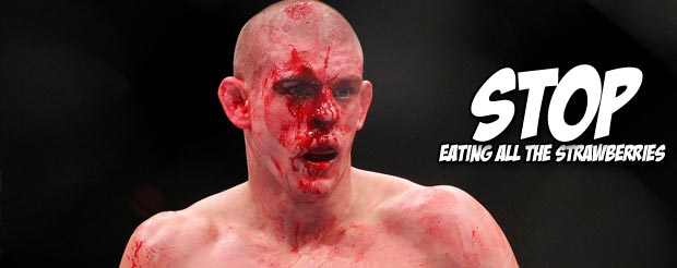 Joe Lauzon's face is still shredded from UFC 155
