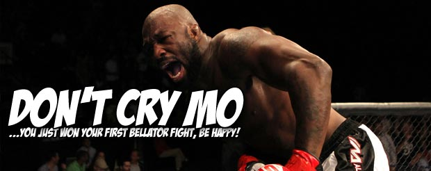 King Mo just became a nominee for walk-off KO of the year at Bellator 86