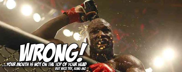 Check out King Mo dropping his training partner at Mayweather Boxing Club
