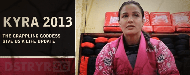 DstryrSG   Kyra Gracie brings in the new year with an interview