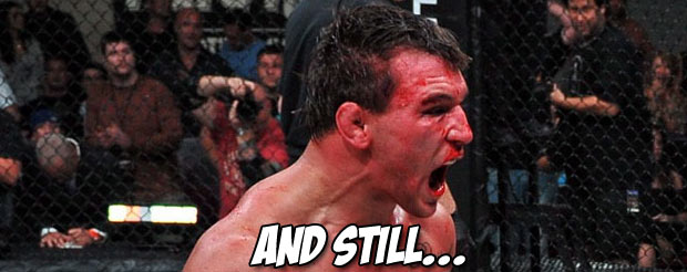 Michael Chandler completely ignored the fact that Rick Hawn is a tough dude and dominated him to retain his belt