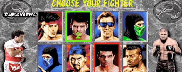 Belfort vs. Bisping just got the Mortal Kombat treatment, and it's totally rawesome