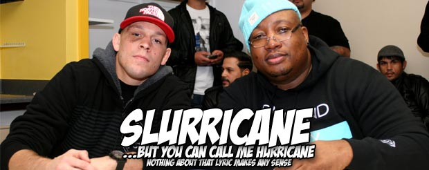 Nate Diaz and E-40 in the same video?! Sure, we'll watch it