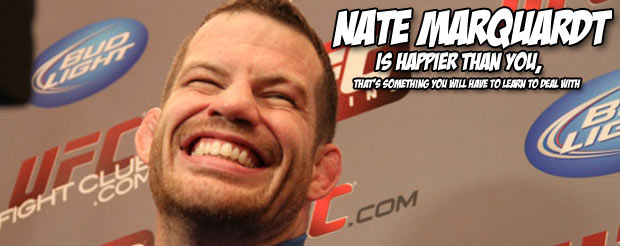 It's Nate Marquardt's turn to get featured on Showtime's I Am a Fighter segment