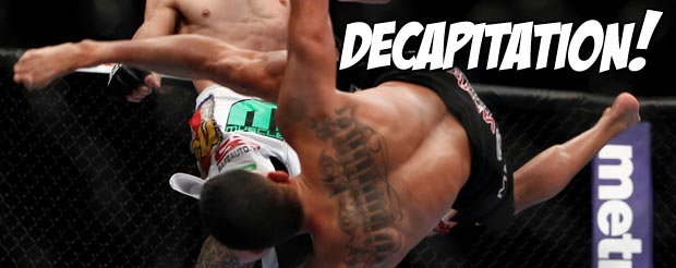 Let's take a look at Anthony Pettis' cartwheel from UFC on FOX 6 in slow motion