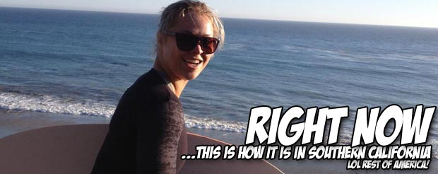 Check out Ronda Rousey skim boarding like some type of skim boarding champion