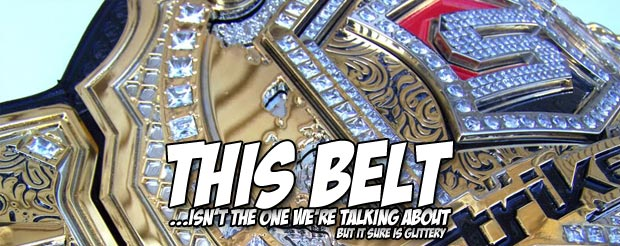 We're not saying Super Fight League ripped off Strikeforce's old belt, but they ripped off Strikeforce's old belt