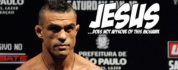 Vitor Belfort talks about Jesus and stuff in his UFC on FX post-fight interview