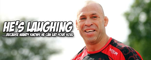 Watch this video of Wanderlei Silva punishing his sparring partners in preparation for UFC on Fuel TV 8