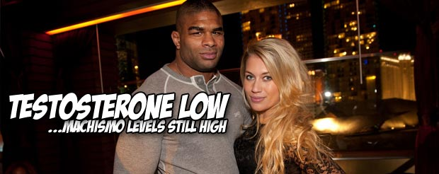 Alistair Overeem's testosterone levels were dangerously low when he fought Bigfoot Silva at UFC 156