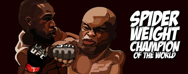 Anderson Silva is willing to fight Jon Jones in New York at a catchweight of 190 lbs