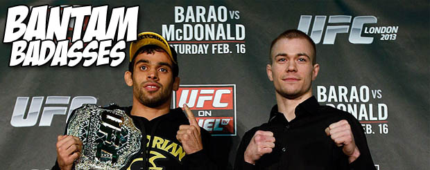 This UFC promo for Barao vs McDonald should get you pumped for UFC on Fuel