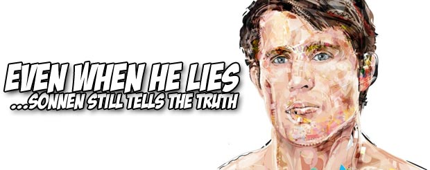 Chael Sonnen licked Rashad Evans' shoe because Dan Henderson lost, and we have video of it