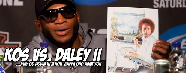 Watching Paul Daley's flying knee knockout would be an outstanding way to start your Monday morning