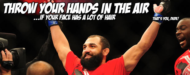 Johny Hendricks doesn't think GSP is a very good matchmaker, does think that he's an idiot