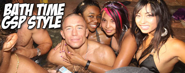 Watch GSP and friends take a post training ice bath in a river
