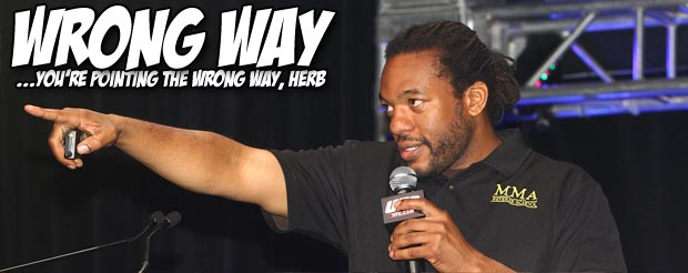 Herb Dean's reaction to Alistair Overeem being KOd at UFC 156 is priceless
